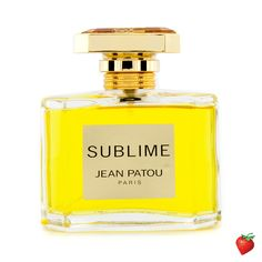 Jean Patou Sublime Eau De Toilette Spray 75ml/2.5oz #JeanPatou #Perfume #Women #StrawberryNET