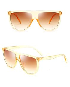 38c291f0308 Flat Top Oversized Sunglasses. Oversize glasses featuring a ...