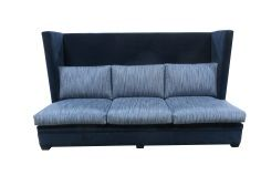 TLS by Design- High wingback banquette.  #interiordesign