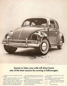 Awesome Volkswagen 2017: Volkswagen (1960s)...  advertising project
