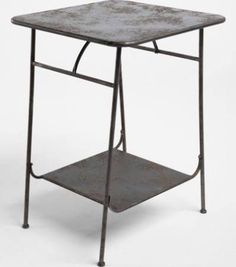 side table industrial - Google Search