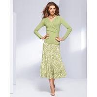 Italian Twelve Panel Jersey Skirt