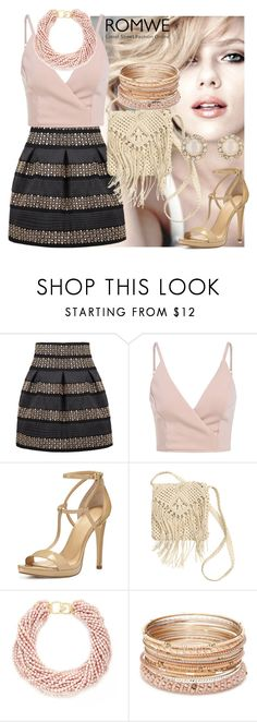 """""""Romwe contest"""" by mersudin-becirovic ❤ liked on Polyvore featuring MICHAEL Michael Kors, H&M, Kenneth Jay Lane, Red Camel and Kate Spade"""