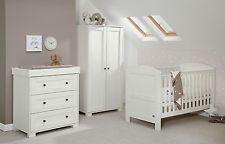 Buy Mamas & Papas Harrow 3 Piece Nursery Furniture Set White at