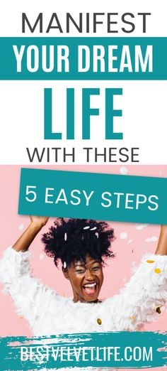 5 Tips to Manifest Your Dream Life | how to manifest what you want | how to manifest law of attraction. #lawofattraction #attractprosperity #liveyourbestlife Yoga To Relieve Stress, Release Stress, Get What You Want, How To Manifest, Stress And Anxiety, Dream Life, Live For Yourself, Law Of Attraction, Life Is Good