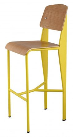 Prouve stool yellow