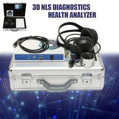 NLS Diagnostics Sub-Health Stress Analyzer Quantum Bioresonance Analysis Windows Xp, Stress, Health, 3d, Operating System, Country, Health Care, Psychological Stress, Salud