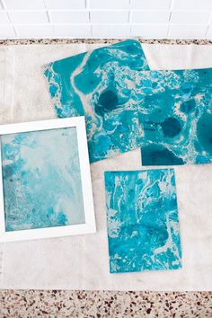 How to Marbleize Paper DIY