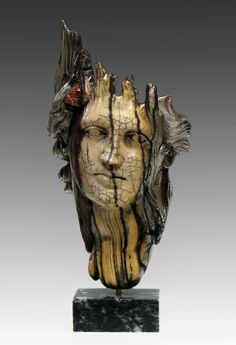 Yiannis Nanouris Raku Sculptures