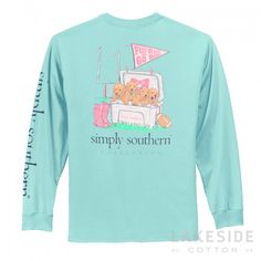 Simply Southern Preppy Hard Tee | Lakeside Cotton