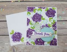 Sootywing Studios: Abstract Impressions Thank You cards