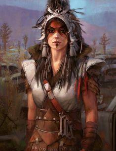 Fantasy/Sci-Fi Illustrations featuring beautiful women - Album on Imgur