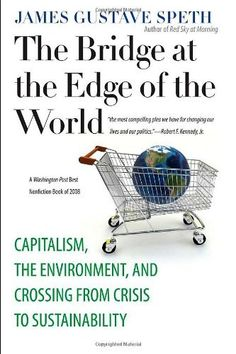 The Bridge at the Edge of the World: Capitalism, the Environment, and Crossing from Crisis to Sustainability by James Gustave Speth, http://www.amazon.com/dp/0300151152/ref=cm_sw_r_pi_dp_rOQdrb08CG2JF