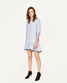 FLORAL JACQUARD DRESS-View All-DRESSES-WOMAN | ZARA United States