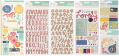 """American Crafts Winter 2013 CHA Releases: Dear Lizzy """"Lucky Charm"""" embellishments"""