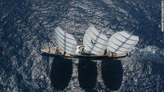 Size matters: How sheikhs and oligarchs transformed the yachting industry By Eoghan Macguire, CNN The 88.1-meter Maltese Falcon has one of the most advanced sailing systems in the world but the vessel designed by Ken Freivokh and launched in 2006 is in overshadowed by some of the larger yachts built since.