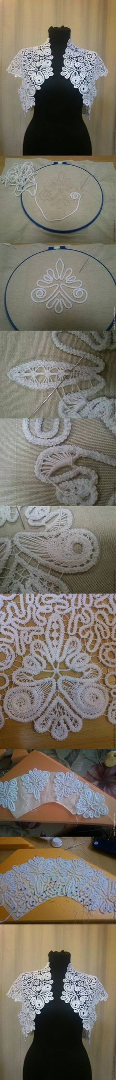 How to knit beautiful Romanian Laces tops step by step DIY tutorial instructions How to knit beautiful Romanian Laces tops step by step DIY... This is for an advanced crafter or seamstress. Not simple, but can be done.
