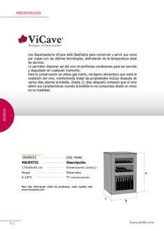 VICAVE. Bodegas climatizadas. Catálogo