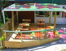 Langley School outdoor classroom