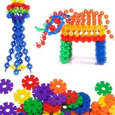 Plasticity Over Plastic Snowflake Building Blocks – Ready Set Deals