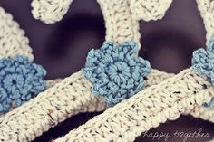 Crocheted Hangers {from Annarose Notions}