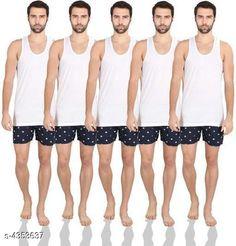 Innerwear Vests Trendy Men's Innerwear Vests Fabric: Hosiery Cotton Sleeves: Sleeves Are Not Included