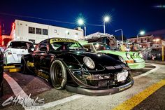 """RWB """"Charlene"""" is actually one of Nakai's favorite RWB builds and the Porsche he uses to test endurance parts on for the Idlers race series…"""