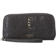 Buy GUESS - Abbey Ray Large Zip Around (Black) - Bags and Luggage price - Zappos is proud to offer the GUESS - Abbey Ray Large Zip Around (Black) - Bags and Luggage: Accent your extraordinary style with a subtle hint of luxury brandishing this GUESS Abbey Ray Large Zip Around.