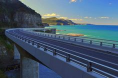 Sea Cliff Bridge, Coalcliff, New South Wales, Australia South Pacific, Pacific Ocean, Sea Cliff Bridge, My Land, Back In Time, Sydney Australia, Night Life, Airplane View, Places Ive Been