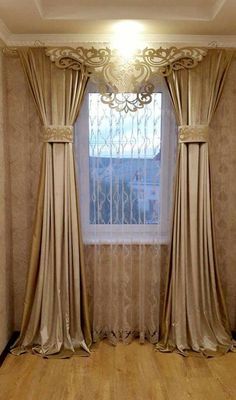 Bedroom Curtain Ideas (For Master, Small, and Children Bedroom) bedroom Home Curtains, Farmhouse Curtains, Curtains Living, Farmhouse Bedroom Decor, Curtains With Blinds, Tall Curtains, Valances, Window Curtains, Curtain Styles