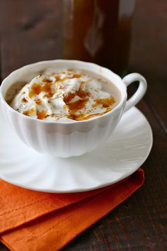 pumpkin spice syrup for pumpkin spice lattes / recipe