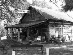 Country Store in Kentucky's Land Between the Lakes