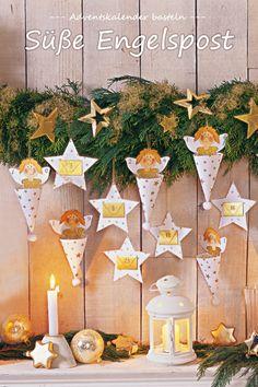 In diesem Adventskalender stecken wir die Engel in die Tüte - natürlich zusammen mit einer kleinen Überraschung.