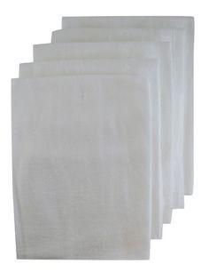 real simple flour sack towels set of 4 32 x 38 great for diy rh pinterest com