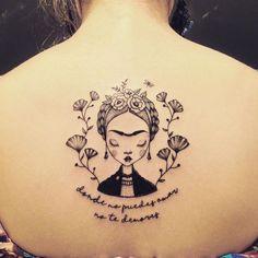 Resultado de imagen para tatuajaes de frida kahlo