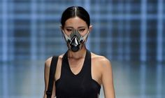 What is scarier than Halloween: Smog masks as fashion accessories