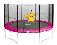 Pikachu wurde auf einem Trampolin von Salta gesichtet....