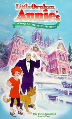 little orphan annies very animated christmas vhs - Best Animated Christmas Movies