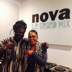 Avant son passage dans le #NéoGéo de Bintou dans 10 jours #BabaSissoko est venu apporter de grands sourires dans les studios de Nova