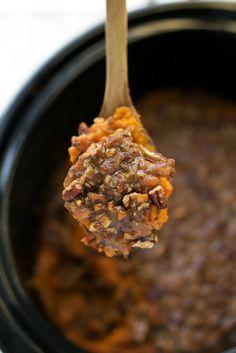 {Slow Cooker} Sweet Potato Casserole   Chelsea's Messy Apron