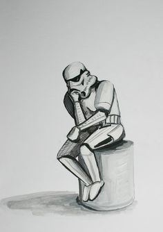 "Stormtrooper ""The Thinker"""