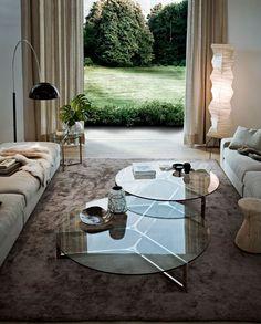 Coffee table / contemporary / aluminium / stainless steel RAJ by Ricardo Bello Dias Gallotti&Radice