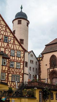 Fairytale tower in Wertheim, Germany
