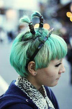Pastel hair  #nastygal #MINKPINK