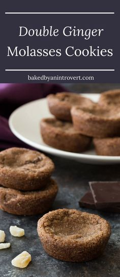 The cookies belong to the chewy-molasses-cookie family, but they have ...