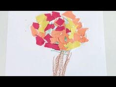 Torn Paper Fall Tree * ages 3-5 ⋆ Raising Dragons