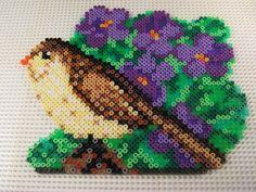 Bird hama beads by meine_liebe_mami
