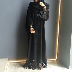 Al Mazyoona Black Embroidered