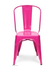 Pink Tolix Chair Replica by Cintesi.    Looking for new Hotfoot office chairs... cute but maybe not that comfy?