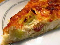 Greek Recipes, Desert Recipes, Cookbook Recipes, Cooking Recipes, Savory Tart, Lasagna, Quiche, Deserts, Brunch